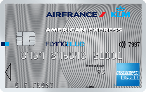 Carte Air France KLM - American Express Silver